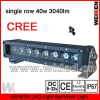 offroad ATV UTV SUV waterproof IP67 cree 9.5inch 40w 3040lm led work light