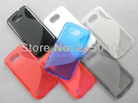 Free Shipping! Galaxy Premier Anti-skid Matte S Line Soft TPU Gel Back Cover Case for Samsung Galaxy Premier i9260, SAM-039