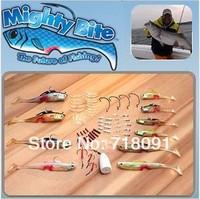 1SET,MIGHTY BITE 5-Sense Fishing Lures System Collection Freshwater/Saltwater Fishing,Drop Free Shipping