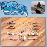 Free Shipping MIGHTY BITE 5-Sense Fishing Lures/baits System Collection Freshwater/Saltwater Fishing,1PC