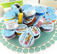 Bud silk stickers Mixed Scrapbook Stickers washi-tape lace trim recados online album livre photo decoration scrapbook supplies