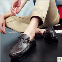 Free shipping! ! ! 2013  fashion Casual Leather driving Shoes, Mocassins, Soft and Comfortable loafers for men