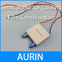 Aluminum water head 12706 semiconductor cooling film combination fish tank electric heating device