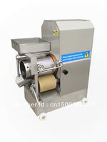 Automatic fish meat, mining machine fish bone spurs separating machine / fish ball machine shelled shrimp