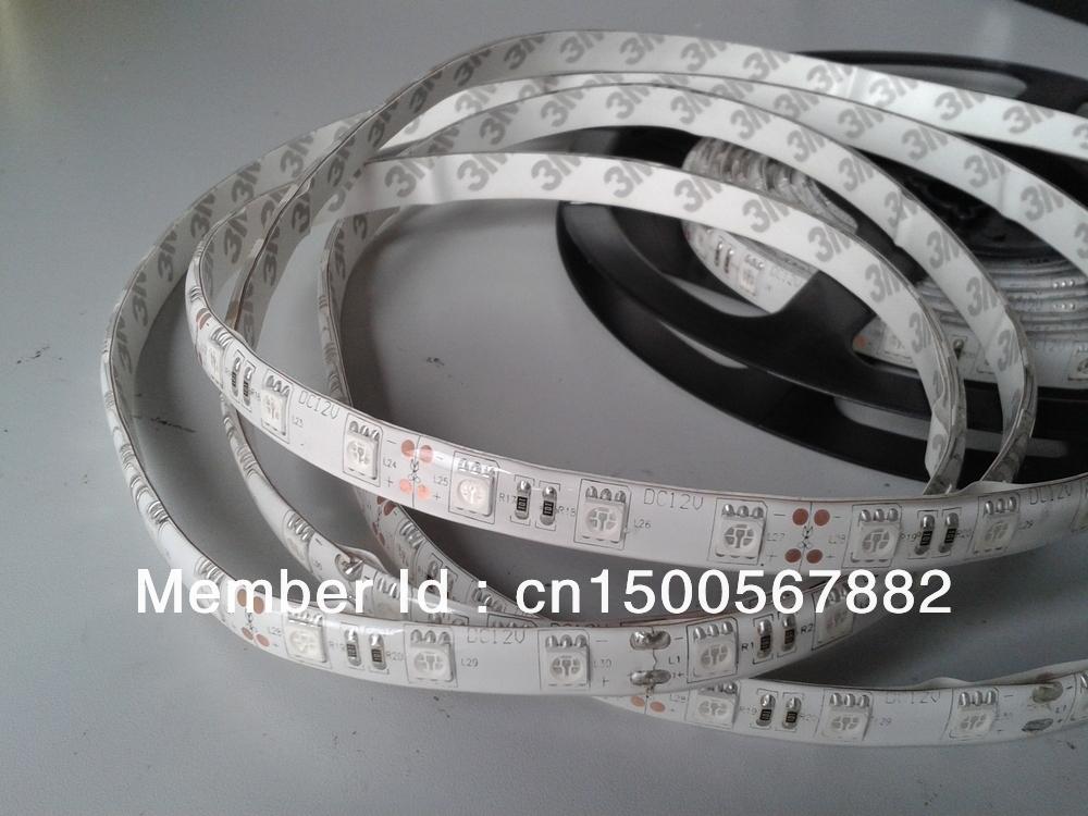 5050 flexible drop glue waterproof uv led strip IP65 60leds/m 380-385nm(China (Mainland))