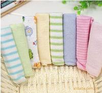 ( 8 pcs/lot ) Kit Soft Baby Newborn Children Bath Towels Washcloth for Bathing Feeding