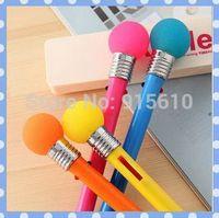 [Amy] free shipping 20pcs/lot  Vibration lights dazzle colour light bulb Multi-function double color ball pen high quality