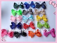 100pcs/lot acessories hair ,accessories, flower girl,dot hair bows