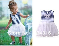free shipping in stock children girl dress,chilren clothing,5 pcs/lot,kid wear,tutu dress