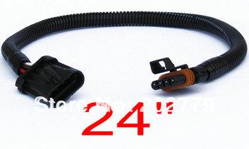 longyue 20pcs LS1 LS6  LT1 Corvette Oxygen O2 Sensor Header Extension 4 PIN FLAT 60cm wire