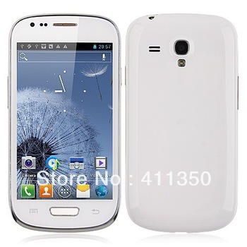 wholesale freeshipping S9920 4 inch Dual Core smartphone MTK6577/MTK6572W  Android 4.1 OS phone with 2* battery