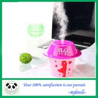 Mini USB humidifier cap hat/ mist maker/ air humidifier/ultrasonic humidifier/hot sale in the market/free shipping