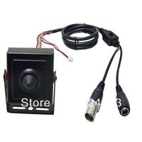 960H HD 700TVL Sony CCD Effio-P Mini CCTV Security 3.7mm Pinhole Hidden Lens FPV Color Camera 0.001Lux WDR OSD Menu HLC