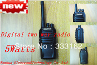 Free Shipping Professional Digital Two Way Radio CTCSS/DCS Digital Walkie Talkie  Digital Analog Auto Switch Digital Transceiver