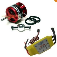 30A Brushless ESC Speed Controller + EMAX 1200KV Brushless Motor
