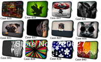 Waterproof Dual Zipper 7 Inch Soft Neoprene Sleeve Bag Case Cover Pouch For 7'' - 8.2'' Tablet PC Laptop Ebook MID Free Shipping