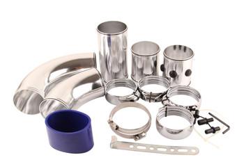 Adjustable Universal Alu Intake Pipe/Universal five stage aluminum alloy intake pipe Kit