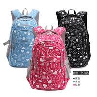 Free shipping Baby waterproof burdens fashion girl school bag backpack
