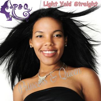 Beyonce Full Lace Wigs Light Yaki Straight Virgin Malaysian Human Hair