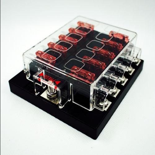 Automotive Fuse Box Amps 10 Way Blade Fuse Box Bus