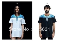 2013 Summer New Design Men's T-Shirt Short Sleeve Fashion Shirt Eagle Patterned Logo Tag Cotton Casual Tee S/M/L/XL M-9030