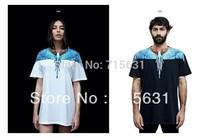 2013 Summer New Design Men's T-Shirt Short Sleeve Fashion Shirt Eagle Patterned Logo Tag Cotton Casual Tee S/M/L/XL M-9030