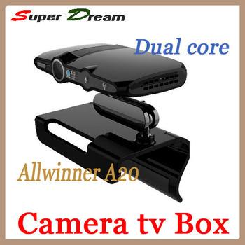 EU3000(updated by EU2000/HD2)5.0M camera Allwinner A20 ARM Cortex A7 1080P HD RAM 1GB/8GB skype android Google 4.2 tv box&sticks