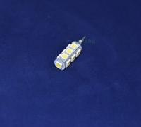 20PCS/Lot G4 LED corn spot flood light 5050 13SMD  White/Warm 3W