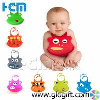 Silicone Baby bib Waterproof Bib with slobber pocket current designs