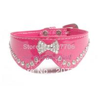 Crystal Bow Pet Dog Collar,Beautiful Pet Collar