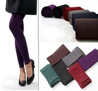 8 COLOR FOR CHOICE WOMEN WARM WINTER SKNNY STRETCH FLEECE LEGGING PANT #0003