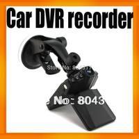 "Cheapest Sunplus H198 Portable Car DVR Camera Video Recorder 6 IR LED Night Vision2.5"" LCD 120 Degree Angle 10pcs/lot"