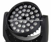 Free shipping 36x10W RGBW 4 in 1 LED Moving Head ZOOM
