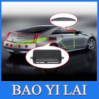 Parking Sensor Car LED Assistance Reverse Backup Radar Monitor System Backlight Display 4 Sensors 6 colors car radar detector