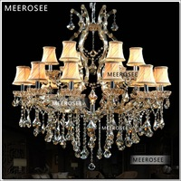 Free shipping Big Lobby crystal chandelier light hanging lamp hotel lighting  MD8476C-L12+6   D1000mm  H1000mm