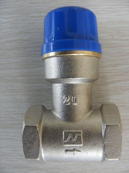"China manufacturer 3/4"" brass frost valve for solar water heater"
