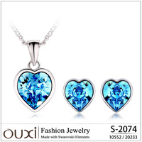 New arrival jewelry set made with Swarovski Elements S-2074 free shipping