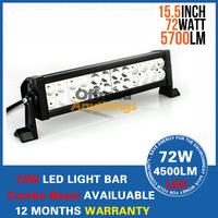 13 inch 72W Offroad LED Light Bar Combo Beam 9-30V Waterproof 72 Watt LED Work Light ATV SUV 4WD Drive Lamp