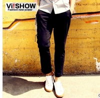 viishow2013 spring new casual pants men's casual pants men's casual pants men's trousers straight jeans tide