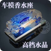 The crystal Perfume seat  Car model Perfume seat  Car fragrances Car Air Freshener More color choice