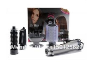 Wholesale - Free Shipping 4 in1 Combo Hair Styler Tools Rotating Electric Straightening Hair Brush