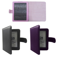 Wallet Pouch Shell Skin Leather Case Cover For Kobo Mini eReader