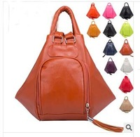 2014 Women Fashion Backpacks 12 Colors Bags The Multivariant Backpack Free Shipping