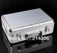 Aluminum case with neck straps for Transmitter ,futaba radio ,Walkera radio JR radio,HITEC,ESKY