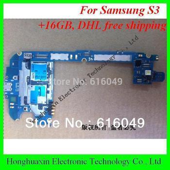 DHL EMS free shipping 16GB original Motherboard  for Samsung Galaxy S3  i9300 / i9308 mainboard European version 100% testing!!!