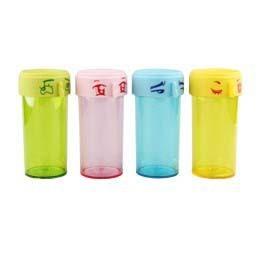S-Dek PS Cute Facial Expression Water Bottle Drinking Water Bottle for Kids