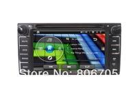 6.2 inch in dash dual din TFT HD cheap Universal Toyota  car dvd player for camry corolla Hilux RAV4 yaris W/Digital LCD Screen