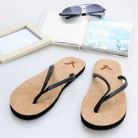 Guaranteed 100% High Quality Hot New Arrival 2014 Lovers Slippers Men Shoes Flip Flops Summer Beach Male Slippers Drop Shipping