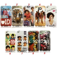 Free Shipping Hot Items Hard Covers for IPod Touch 4 Cool One Direction Band 1 D Plastic  Case