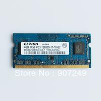 laptop ELPIDA 4GB DDR3 PC3-12800S 1600MHz RAM Arbeitsspeicher Speicher SODIMM